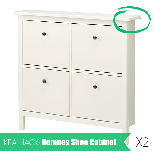 Ikea Hack Hemnes Shoe Cabinet Life Like This